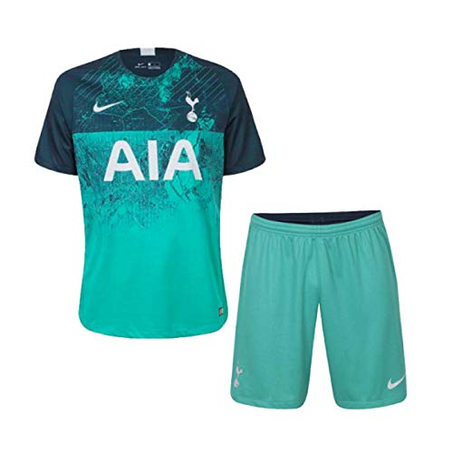 Kids Tottenham Hotspur Green Away 18 19 Dry Fit Polyester Half Sleeve Jersey With Short Amazon In Sports Fitness Outdoors