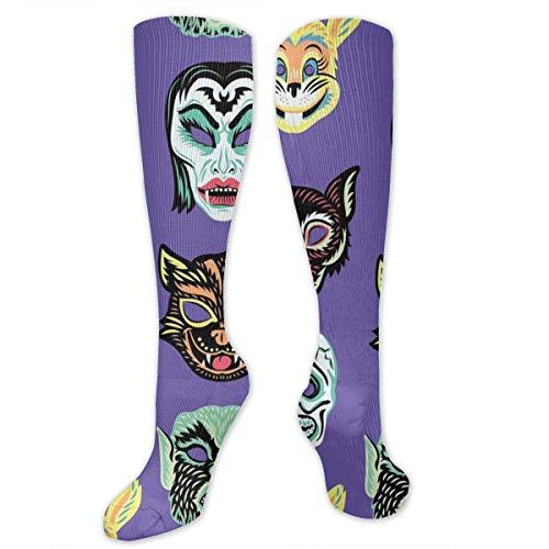 NGkIm Halloween Purple Owl Unisex Novelty Socks - Best Medical,for Running,Athletic,Varicose Veins,Travel ()