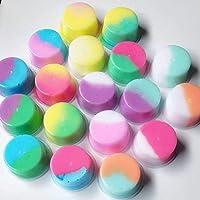 Elviray Fluffy Floam Slime Doble Color Stress Relief Craft Mud Toy Plasticine No Borax Cotton Slime Clay Modelado Port/átil Clay
