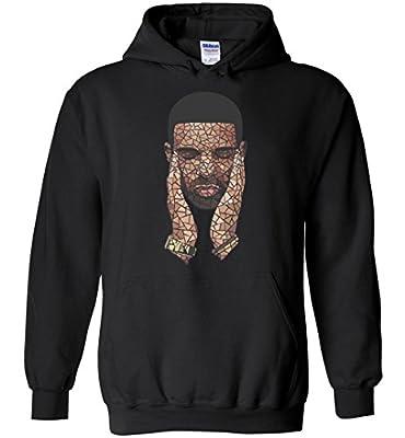 Drake Inspired Mosaic Hoodie Print