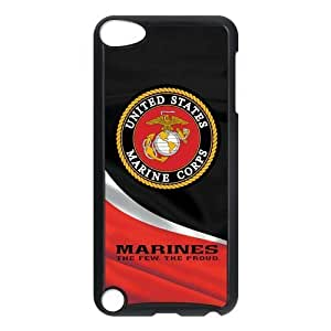 Customize High Quality US Marine Corp Back Cover Case for ipod Touch 5Kimberly Kurzendoerfer