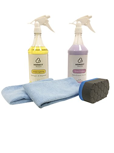 Honest Wash Engine Bay Cleaning Kit - Everything to Clean and Shine the Engine Bay in your Car or Truck