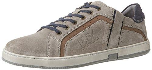 Josef Seibel Gatteo 33, Zapatos de Cordones Derby para Hombre Grau (grau-multi)