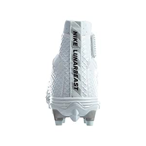 Nike Lunarbeast Elite TD Size 10 Black White Grey Football Cleat