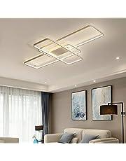 LED Plafondlampen Slaapkamer Lampen Woonkamer Lampen Eettafel Lampen Dimbaar 3000K-6500K Modern Deco Chic Design Acryl Kap Plafondlampen Hanglamp Keuken Eetkamer Slaapkamer Adkamer Hal Lamp