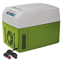 Dometic TC Portable Thermo Electric Cooler/Warmer, Gray/Green by Dometic