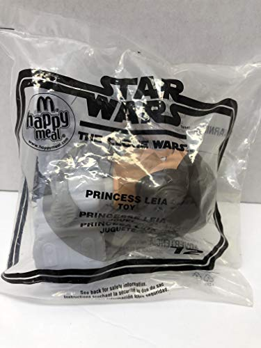 McDonald's Star Wars The Clone Wars Princess Leia Happy Meal Toy