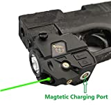 Infilight Green Laser Sight, Compact Green Laser Dot Sight Scope...