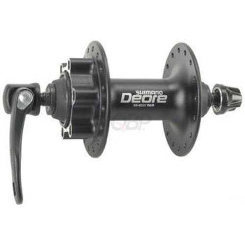 Front Type Hub (Shimano Deore M525A 36h Front Disc Hub Black)