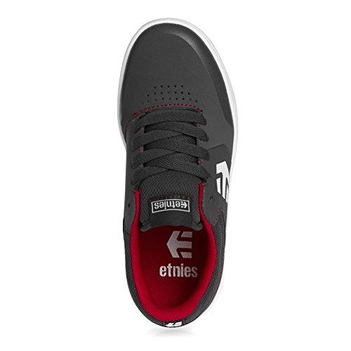Marana Chaussures Unisexe Gris Enfants Chaussures Skateboarding Blanc Etnies Rouge Skateboarding TtxA4wq