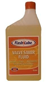 FlashLube Valve Saver Fluid - Lubricante y limpiador LPG para cilindros (1 L)