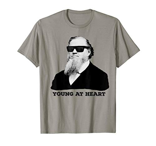 Brigham Young at Heart Sunglasses Funny Mormon ()