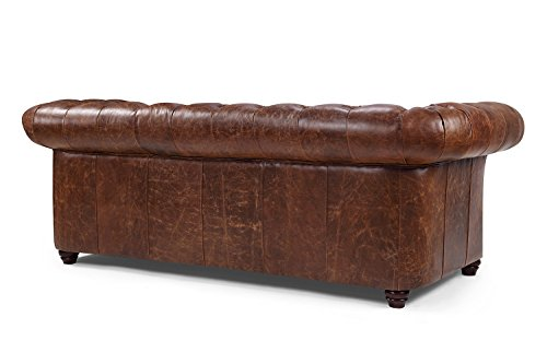 Westminster Chesterfield Leather Sofa by Rose& Moore Buy Online in UAE rose and moore