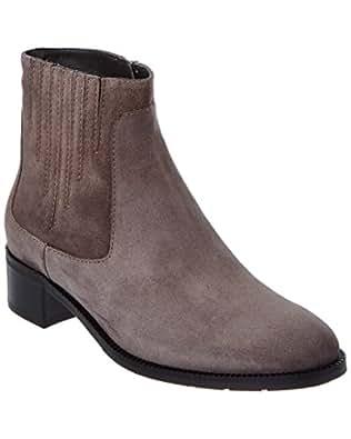 Amazon Com Aquatalia Women S Oribella Suede Ankle Bootie