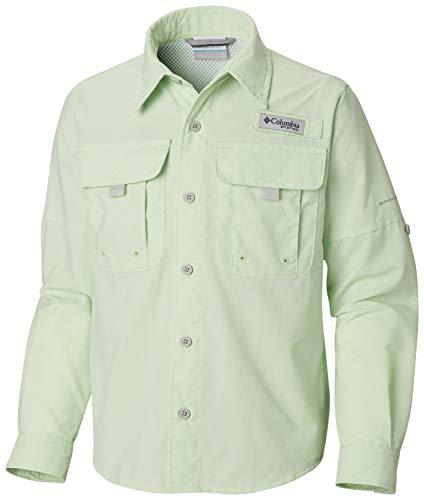 Columbia Boys Bahama Long Sleeve Shirt, Key West, Medium
