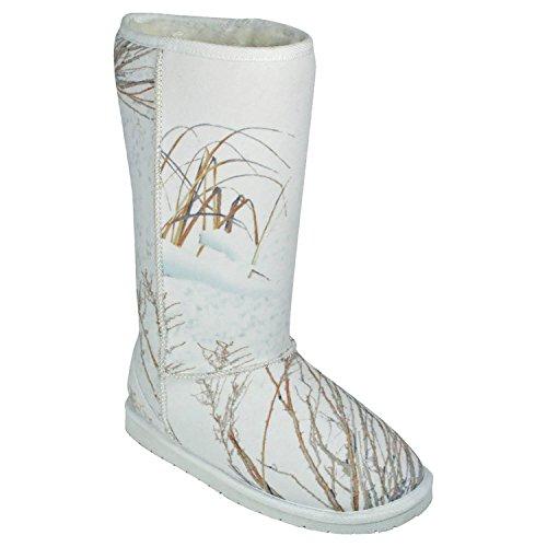 Australian Mossy 13 DAWGS Style Winter Boot Brush Inch Women's Oak wUCvxnvdX