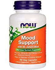 Now Foods Mood Support with St. John's Wort, Veg Capsules, 90ct