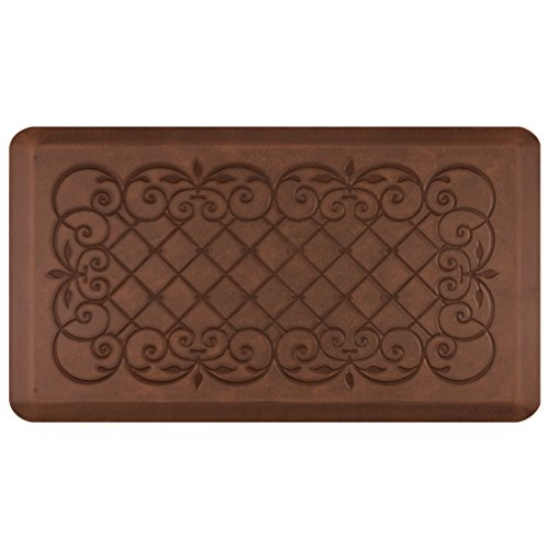 Smart Step Home Collection Anti-Fatigue Mat, Light Antique Brown, 36