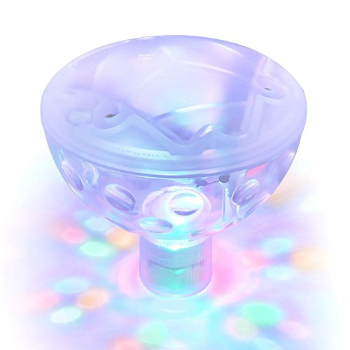 Swimming Pool Lights Underwater Light Show Disco Colorful Creative Baby Shower Aquarium Lighting 5 Light Model Pond Floating Lamp Aqua Glow Party Night Light Waterproof
