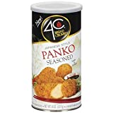 4C, Japanese Style Panko Seasoned Bread Crumbs, 8oz Canister (Pack of 6)