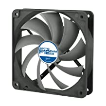 ARCTIC F12 PWM PST CO - 120mm Dual Ball Bearing Low Noise PWM Standard Case Fan with PST Feature