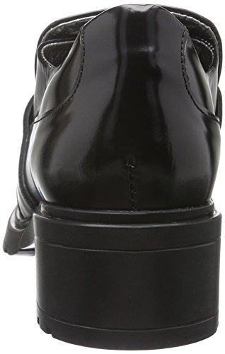 10co De Para Mujer D1042 Zapatos Cerrada ac Con Punta Tacón Hip Negro qxTw0CvEE