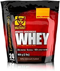 Mutant Mutant Whey - 908 gr Triple Chocolate: Amazon.es ...