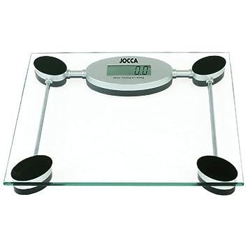 Jocca 7139 - Bascula de baño digital, color transparente: Amazon.es: Salud y cuidado personal