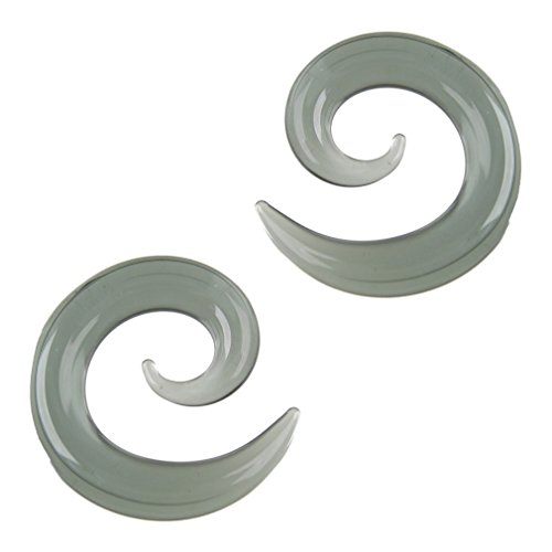 Pair of Glass Spirals: 6g Smok