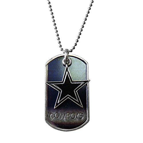 NFL Dallas Cowboys Dog Tag Charm Necklace