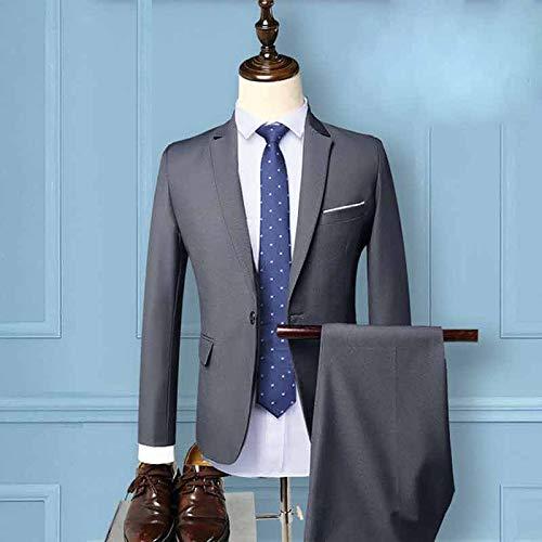 blue Giacca Tux Pezzi Pantaloni 3 l Mens Slim Jjk Uomo E Tuta Gray Fit Camicia Tute zxTRx8wOq