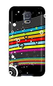 Myra Fraidin's Shop 8982680K82103809 High-quality Durability Case For Galaxy S5(colorful Stars Hd)