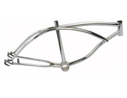 "20"" Lowrider Frame Chrome. Bike frame, bicycle frame, lowrid"