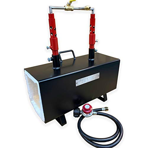 Hell's Forge MAX Propane Forge Double Burner Unit