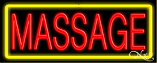 (13x32x3 inches Massage NEON Advertising Window Sign)