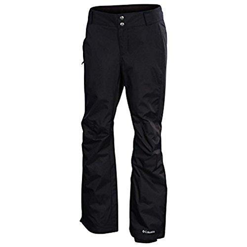 Black Ski - Columbia Women's Arctic Trip Ski Snow Pants Style:XL8185-010 Black Short (Large Short)