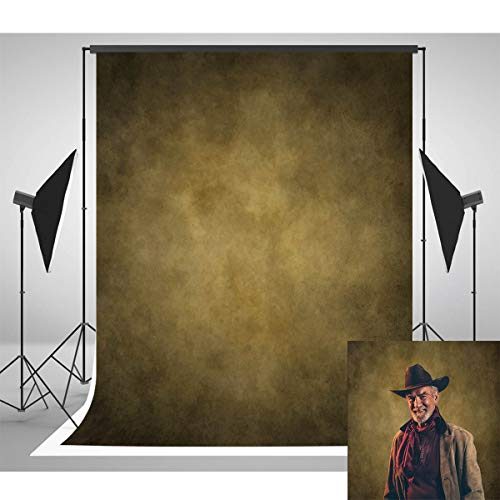 - Allenjoy 6.5ft(W) x10ft(H) Polyester Professional Abstract Photography Backdrops Collapsible Muslin Washable Brown Old Master Portrait Photo Background for Photography,Studio Props Booth