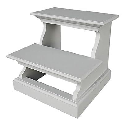 Nova Solo Halifax White Bed Step