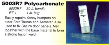 Urethane Supply Co. Polycarbonate Rod - Clear (1/8 - Supply Urethane