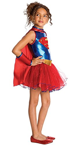 Supergirl Tutu Kids Costume - Toddler (Kids Supergirl Tutu Costume)