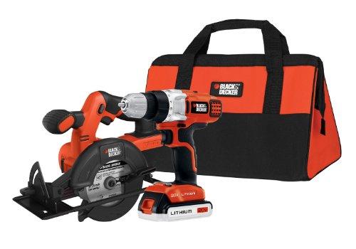 Black & Decker BDCD220CS 20-volt Max Drill/Driver and Circular Saw Kit