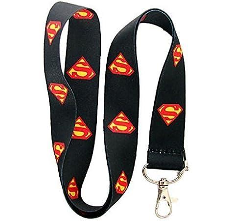 Best Buyer Spain Teléfono Nuevo Superman Superhéroe Negro Cordón para el Cuello de la Correa de móvil, Tarjeta de Identificación, Claves, Regalos: Amazon.es: Electrónica