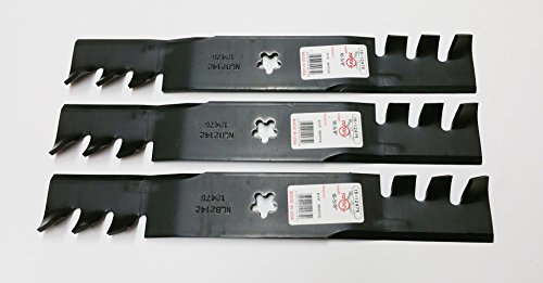 Set OF 3, Mulching Blades Replace 180054, 173921, or 193920 Blades, 48
