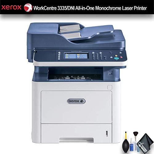 Xerox WorkCentre 3335/DNI All-in-One Monochrome Laser Printer (3335/DNI) Essential Bundle