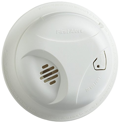 Alarm Long Life Lithium Battery - First Alert SA305CN3 2 Pack Smoke Alarm with Long Life Battery, White