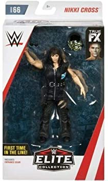 WWE Nikki Cross Elite Collection Wrestling Action Figure Mattel
