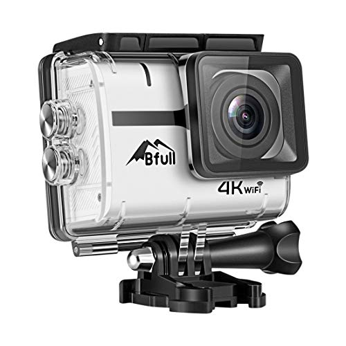 Bfull Action Camera, 4K 16MP Touchscreen Soprts Camera WIFI 170°Wide Angle Len with SONY Sensor Full HD Waterproof 30m Underwater DV Camcorder with 2 Rechargeable Batteries and Mounting Accessory Kits Uncategorized