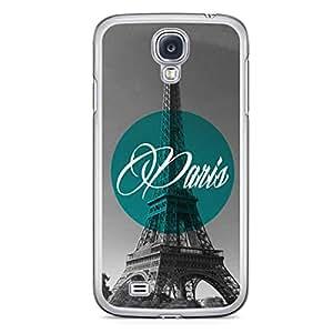 Paris Samsung Galaxy S4 Transparent Edge Case - Cities