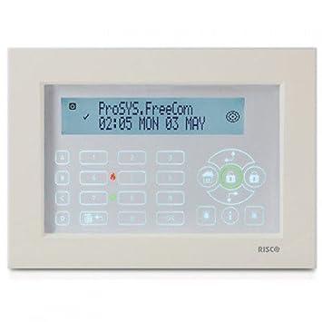 rp128kpp200 a rokonet Risco teclado táctil Prosys lightsys ...