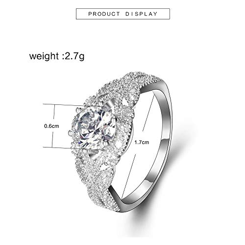 - Diamond Wedding Band Wedding Lover Copper Stack Ring Above Knuckle Rings Ring Under 5 Dollars Valentine's Day Gifts for Girlfriend Boyfriend (US Size)